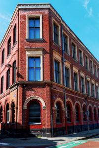 la façade classée, côté rue Sébastopol
